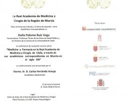 Ingreso en la Academia de la Profesora Dª Paloma Ruiz Vega (26.02.2015)