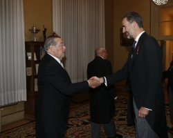 Acto Solemne de Apertura del Curso Académico de las Reales Academias españolas dependientes del Instituto de España