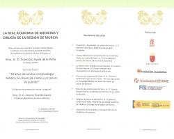 La Real Academia de Medicina, le invita a la Sesión Solemne de ingreso, como Académico de Número, del Dr. Francisco Ayala de la Peña, cuyo discurso versará sobre