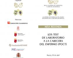 Mesa Redonda - LOS TEST DE LABORATORIO A LA CABECERA DEL ENFERMO (POCT)